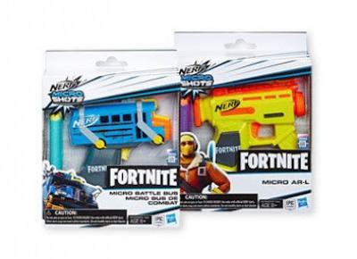 Wyrzutnia Nerf Fortnite lub figurka Transformers Rescue Bots z Biedronki