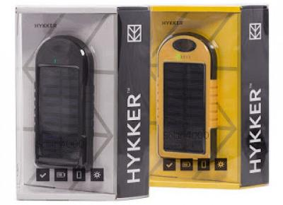 Power Bank Solar 4000 Hykker z Biedronki