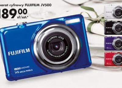 Testujemy produkty z Biedronki: Aparat cyfrowy Fujifilm JV500 z Biedronki
