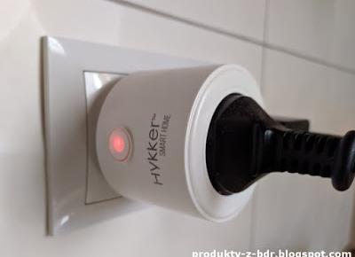Testujemy produkty z Biedronki: Gniazdo Hykker SMART WI-FI z pomiarem energii z Biedronki