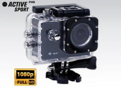 Kamera Sportowa 170 Angle Full HD WiFi z Biedronki