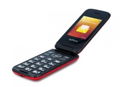 Telefon myPhon Flip 4 z Biedronki