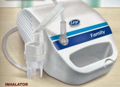 Inhalator Pneumatyczno-Tłokowy Liny Family z Biedronki