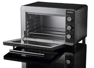 Co w Lidlu: Piekarnik z funkcją grilla 1500 W Silvercrest z Lidla
