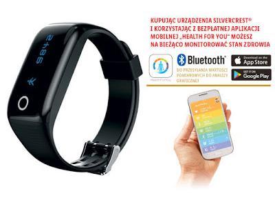 Co w Lidlu: Opaska fitness z funkcją Bluetooth Silvercrest  z Lidla
