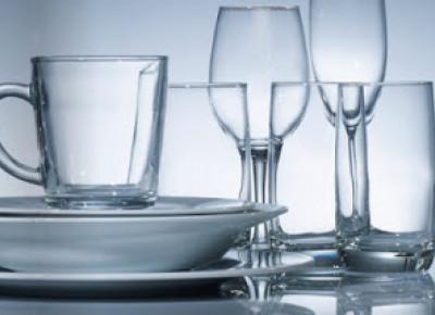 Zestaw startowy do nakrycia stołu z Biedronki