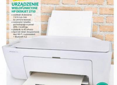 Urządzenie wielofunkcyjne HP DESKJET 2710 z Biedronki