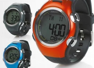 Zegarek sportowy z pulsometrem z Biedronki