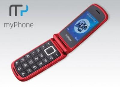 Telefon myPhon Flip 3 z Biedronki