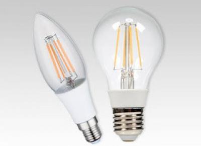 Żarówka filament LED z Biedronki