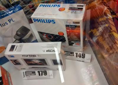 Radio samochodowe Philips CE 133 z Biedronki