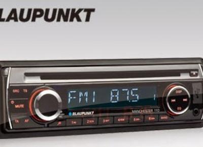 Radio samochodowe Blaupunkt Manchester 110 z Biedronki