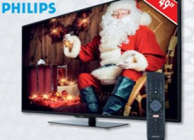 Telewizor Philips 49PUS6031 /12 LED 4K Ultra HD Slim Smart TV z Biedronki