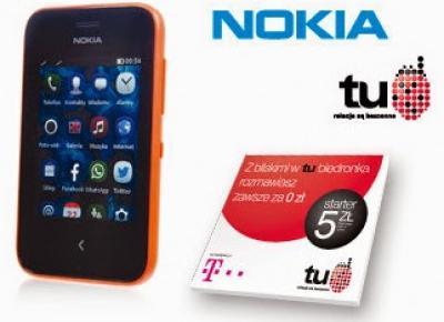 Telefon Nokia Asha 230 z Biedronki