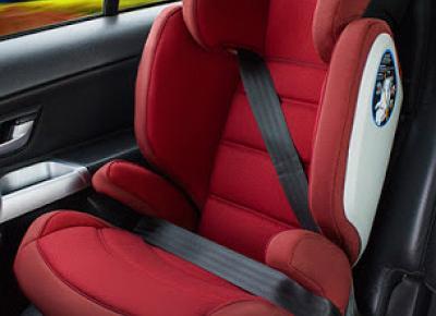 Fotelik samochodowy KinderKraft Junior Fix z systemem ISOFIX z Biedronki