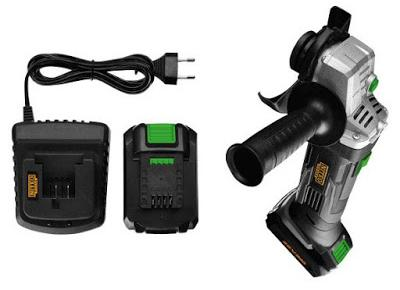 Akumulatorowa szlifierka kątowa 20 V MAX Niteo Tools z Biedronki