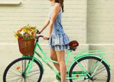 Rower damka z Biedronki