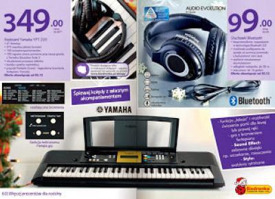 Keyboard Yamaha YPT 220 z Biedronki