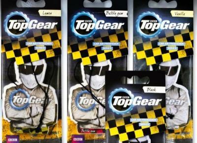 Odświeżacze do samochodu Top Gear z Biedronki