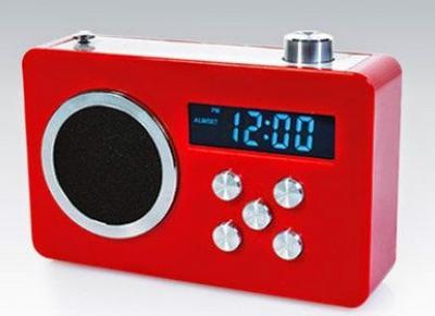 Radio z funkcją zegara z Biedronki