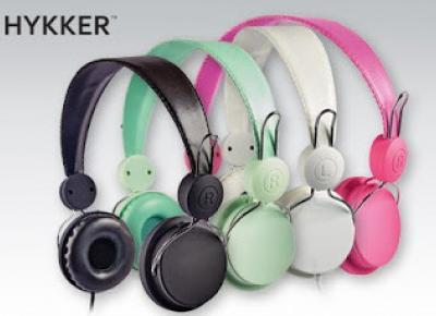 Słuchawki z mikrofonem Hykker z Biedronki