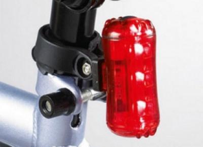 Zestaw lampek rowerowych z Biedronki