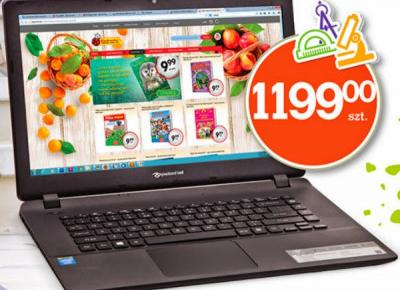 Notebook Packard Bell EasyNote TF71BM z Biedronki