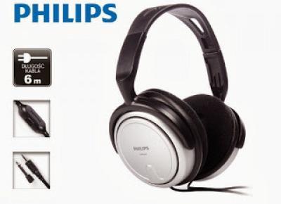 Słuchawki Philips SPH-2500 z Biedronki