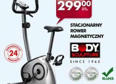 Stacjonarny magnetyczny rower treningowy z Biedronki
