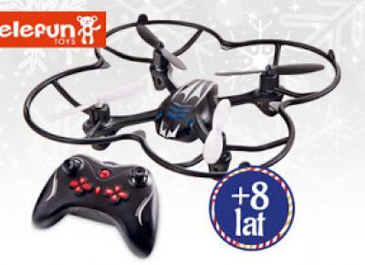 Quadrocopter zdalnie sterowany Elefun Toys z Biedronki