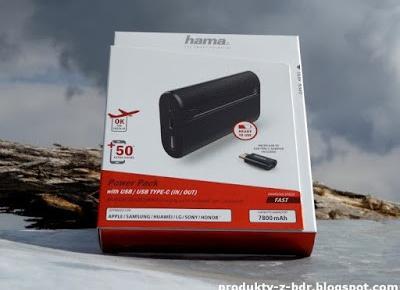Testujemy produkty z Biedronki: Powerbank Hama X7 Power Pack 7800 mAh z Biedronki