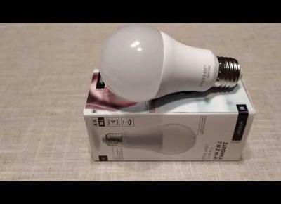 Żarówka biała Smart Wi-Fi 7 W Hykker z Biedronki