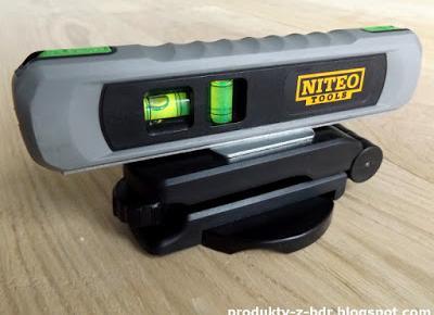 Poziomica laserowa Niteo Tools z Biedronki