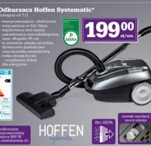 Odkurzacz Hoffen Systematic 800W z Biedronki