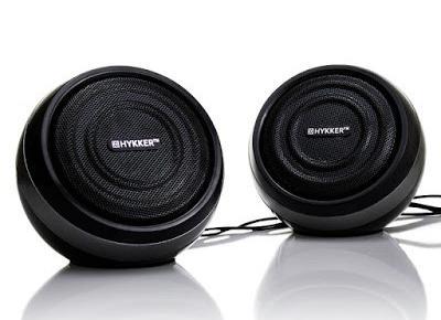 Głośniki komputerowe stereo Hykker z Biedronki