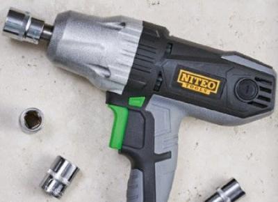 Klucz udarowy Niteo Tools z Biedronki