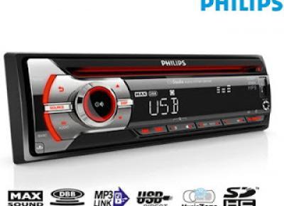 Radio samochodowe Philips CEM 2101 z Biedronki