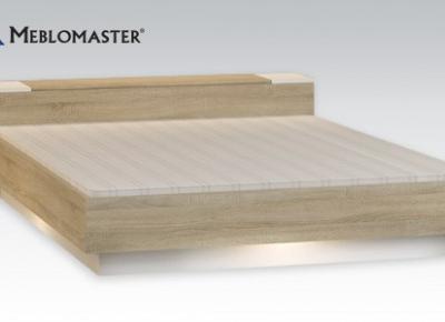 Łóżko z pojemnikiem na pościel Meblomaster z Biedronki
