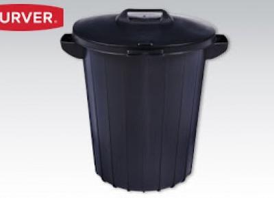Pojemnik na odpady Curver 90 litrów z Biedronki