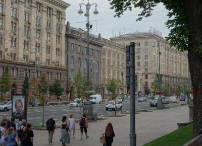 Kijów monumentalny – okolica Dworca, ulica Khreshchatyk i Plac Niepodległości – Miejski Wojażer