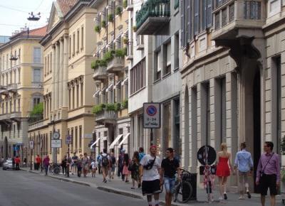 Reszta Polski i świata : Mediolan - ZACNY fragment miasta
