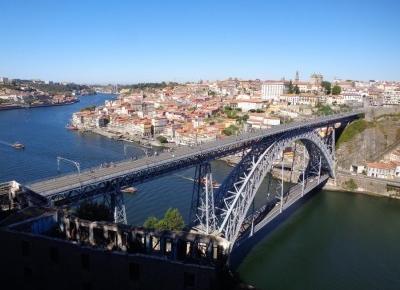 Reszta Polski i świata : Porto - październik 2018 - dzień trzeci - KAPITALNE punkty widokowe z Vila Nova de Gaia