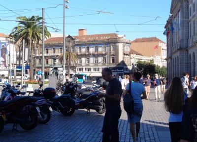 Reszta Polski i świata : Porto - październik 2018 - dzień drugi - Widok Porto z Wieży Kleryków