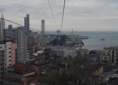 Różnorodność ulic w Batumi oraz widok na miasto z Kolei Gondolowej – Miejski Wojażer