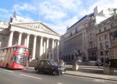 Reszta Polski i świata : Londyn w 7 godzin - City - czyli jak stare łączy się z nowym.