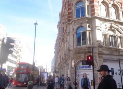 Reszta Polski i świata : Londyn z 7 godzin - Piccadilly Circus, China Town, Regent i Oxfort Street.