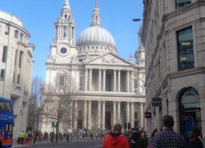 Reszta Polski i świata : Londyn w 7 godzin - Katedra Św. Pawła, Millennium Bridge i różnorodna zabudowa.