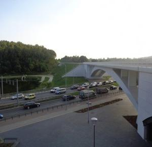 7 zdjęć z Gdańska.: Stacja PKM Niedźwiednik jako punkt widokowy.