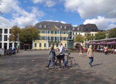 Reszta Polski i ?wiata : Zwiedzamy Bonn - najciekawsza uliczka, miejskie zaskoczenie, krajobrazy nad Renem, jak zapami?tam Bonn?