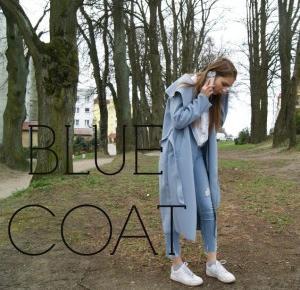 PRETTY RECKLESS KAMILA: BLUE COAT